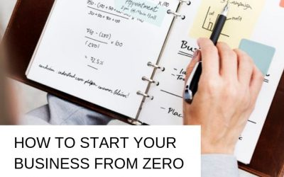 How to start your business from ZERO