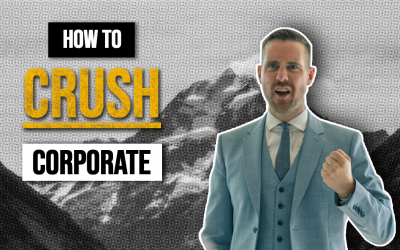 how to crush corporate, PETE SCOTT, ultimate sales academy, sales training