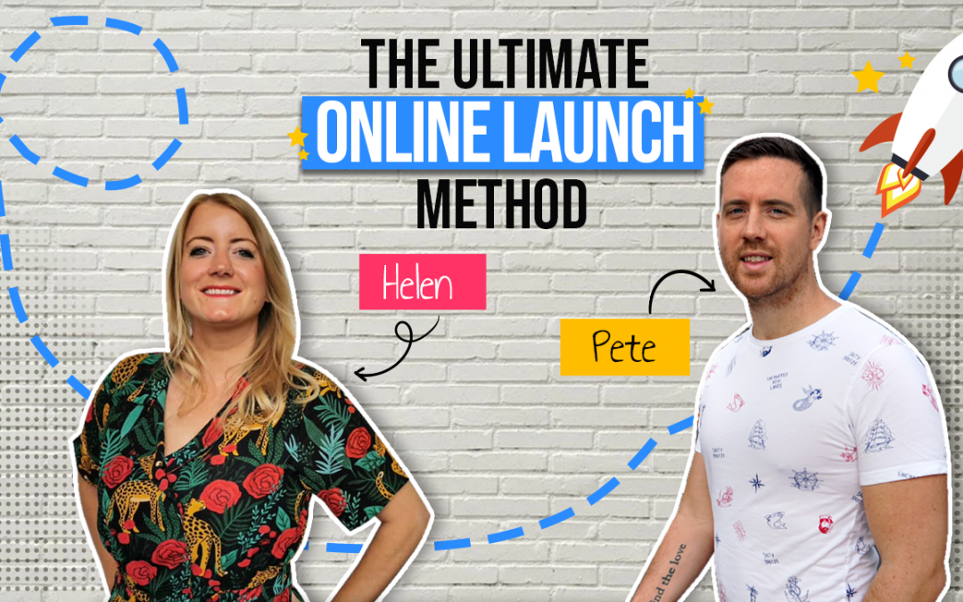 3 day Ultimate Online Launch Method with Helen and Pete