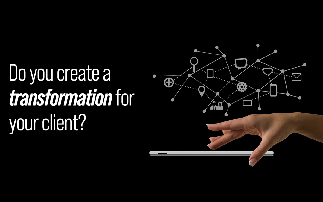 Create a transformation for your client